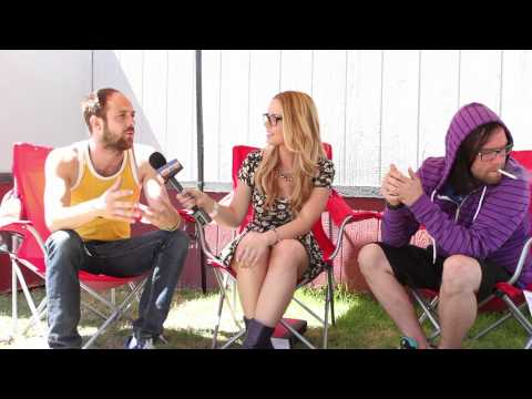 The Used Interview- Bert & Quinn Sing Rihanna! Warped Tour 2012