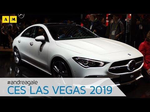Mercedes CLA 2019 Nuova E SUPERTECNOLOGICA Al CES Las Vegas