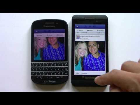 Blackberry Z10 vs Q10 Espanol Completa
