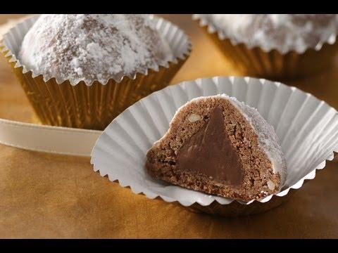 Postres Faciles y Rapidos:  Bolas de Nieve de Chocolate