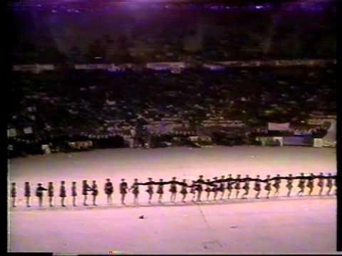 PRIMERA PARTE CONCURSO DE PORRISTAS CIUDAD DE BOGOTA 1990