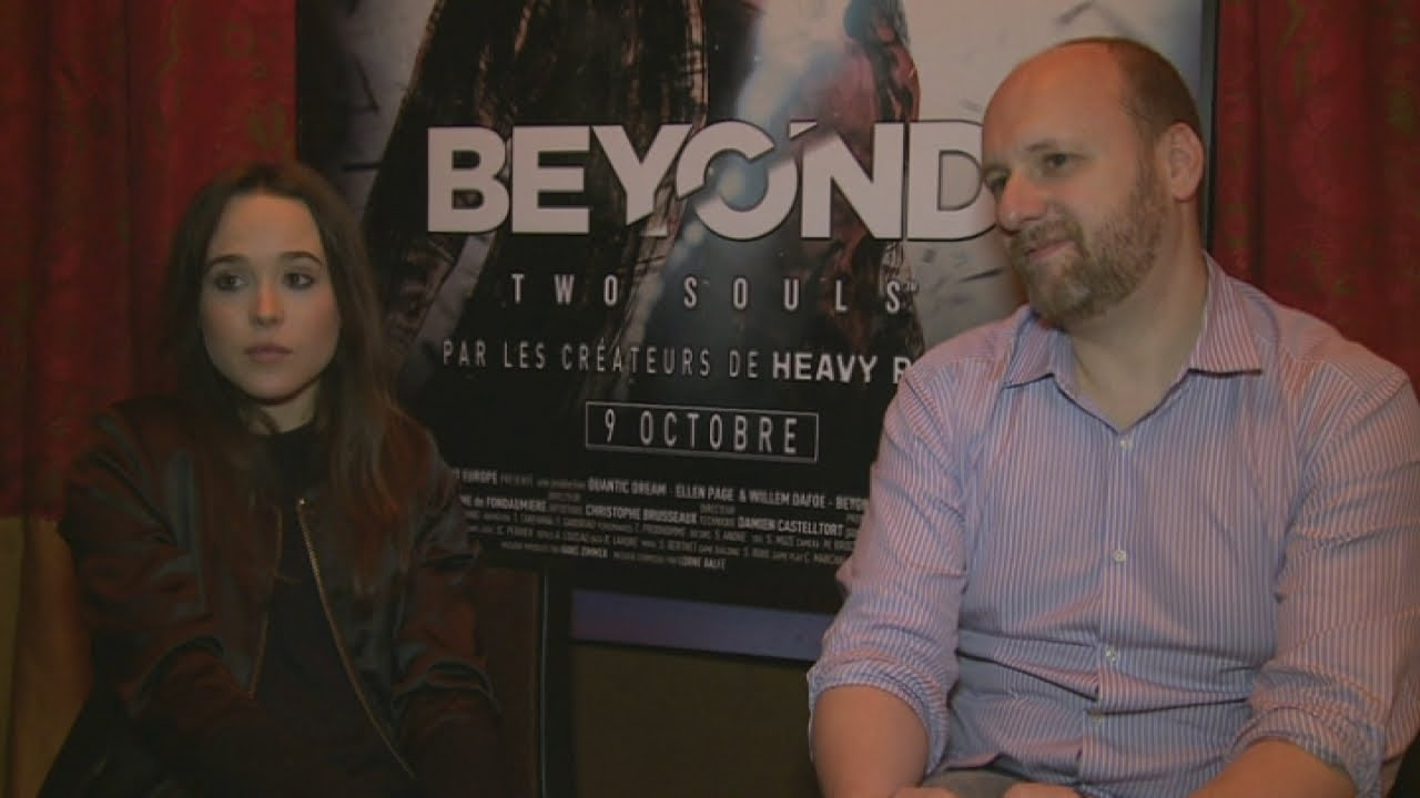 Beyond Two Souls Actor Beyond Two Souls Interview