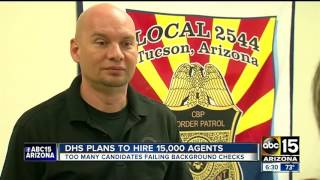 Officials weigh in on DHS plans to hire 15,000 agents