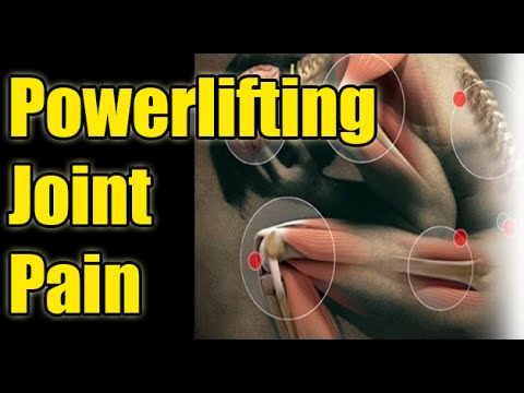 Joint Pain in Powerlifting: Knee, Lower back & Shoulder