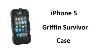 iPhone 5 Griffin Survivor Extreme Case