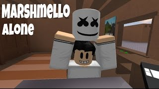 Alone - Marshmello (ROBLOX MUSIC VIDEO)