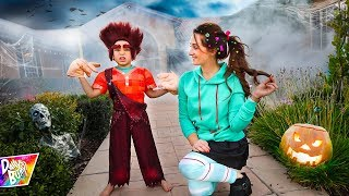 DAILY BUMPS HAUNTED HALLOWEEN HOUSE PARTY! 🎃 (Surprise Birthday Guests!)