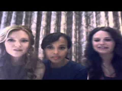 Kerry Washington, Katie Lowes & Darby Stanchfield Talk