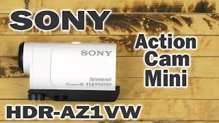 Распаковка Sony Action Cam Mini HDR-AZ1VW