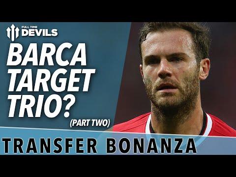 Barca Target Trio? | Transfer Bonanza - Part 2 | Manchester United