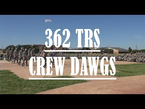 Sheppard AFB Drill Down 2017 (Quarter 2) - 362 TRS Crew Dawgs Routine