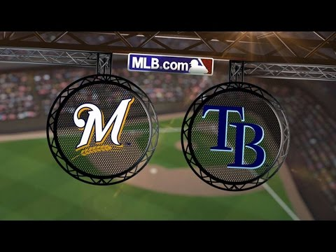 7/30/14: Brewers shut out Rays behind Gallardo's gem