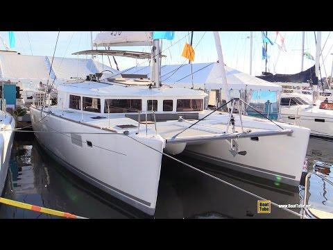 2016 Lagoon 450 Catamaran - Deck and interior Walkaround - 2015 Annapolis Sail Boat Show