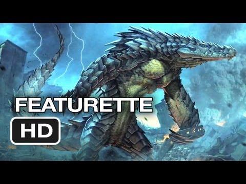 Pacific Rim Featurette - Kaiju (2013) - Guillermo del Toro Movie HD