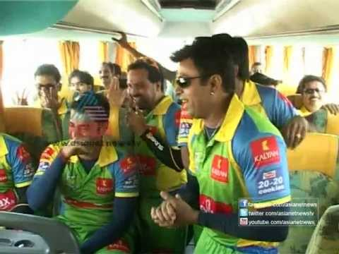 Kerala Strikers team teasing Nivin Pauly - Funny Moments