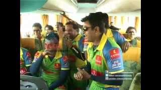 Kerala Strikers team teasing Nivin Pauly - Funny Moments - Asianet News Report on Celebrity Cricket League 2013.