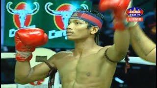 តាញ់ មករា វ៉ៃញាក់សាច់! Tanh Makara Vs (Thai) Bandasak, 19/January/2019, SeaTV Boxing
