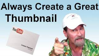 Design and Create a Custom Thumbnail See the Creator Playbook - Pirate Lifestyle TV ™ Quickie 060