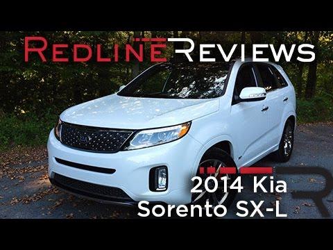 Redline Review: 2014 Kia Sorento SX-L