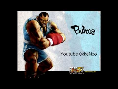 Super Street Fighter 4 Balrog Theme Soundtrack HD