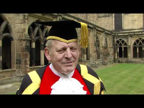 Sir Thomas Allen installed as Chancellor of Durham University