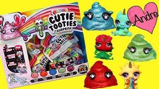 Super Ultra Raros Cutie Tooties con slime | Jugando muñecas y juguetes con Andre para niñas y niños