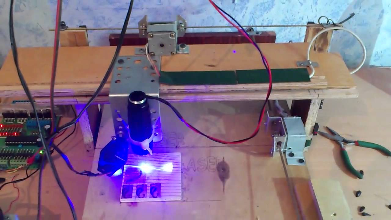 Лазерный гравер своими руками в домашних условиях 91