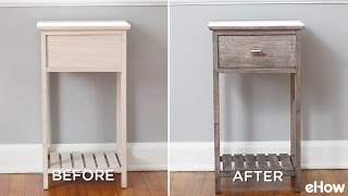 How To Stain Wood With Steel Wool And Vinegar