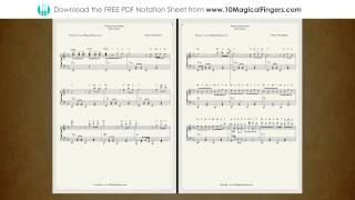 Pukarta Chala Hu Main Western Staff Notation with ABCD Notes and Chords
