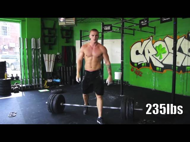 Squat Snatch  - build to a 1RM in 10min