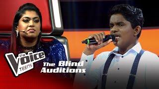 Pavel Fernando | Romanthika Operawa Blind Auditions | The Voice Teens Sri Lanka
