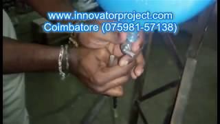 magnetic fuel modifier in two wheeler / Automobile Engineering Projects for Final Year Students