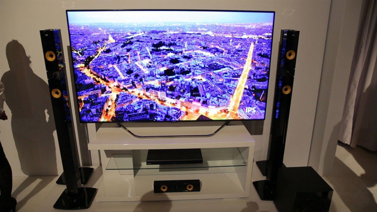 lg 4k and oled tv first impressions ces 2013 youtube. Black Bedroom Furniture Sets. Home Design Ideas
