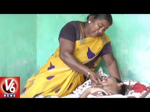 Mother's Day | Special Story On Bhadhradri Dist Woman Spending Decades To Serve Ill Children | V6