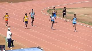 200m Run Final Boys U17. 57th RDS/ Tamil Nadu State School Athletics Championships-2014