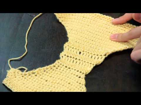 Crocheted Bras &amp  Panty Instructions   Crochet Lessons