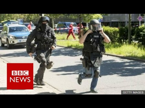 German cinema attacker shot dead - BBC News