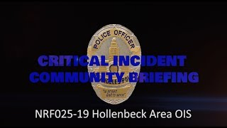 Hollenbeck Area Officer Involved Shooting 6/05/19 (NRF025-19)