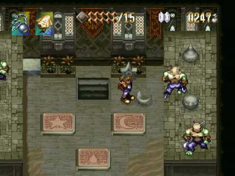 Let's Play Alundra - 13 - The Four Guardians