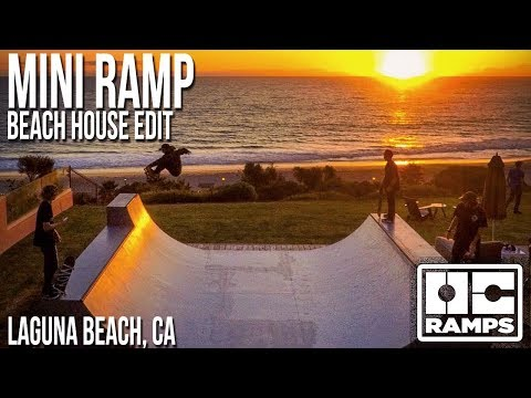 Cliffside Mini Ramp in Laguna Beach