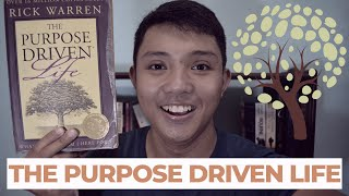 THE PURPOSE DRIVEN LIFE Book Review || Pinoy Booktuber