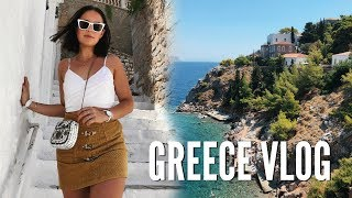 GREECE TRAVEL VLOG!