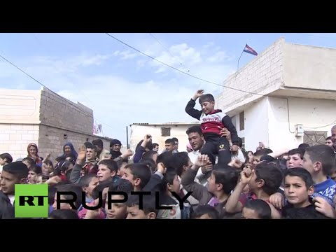 Syria: Daily life continues in village unmarred by conflict