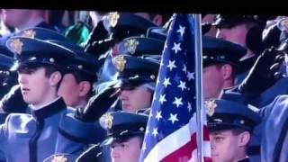Patrick Wilson Sings National Anthem