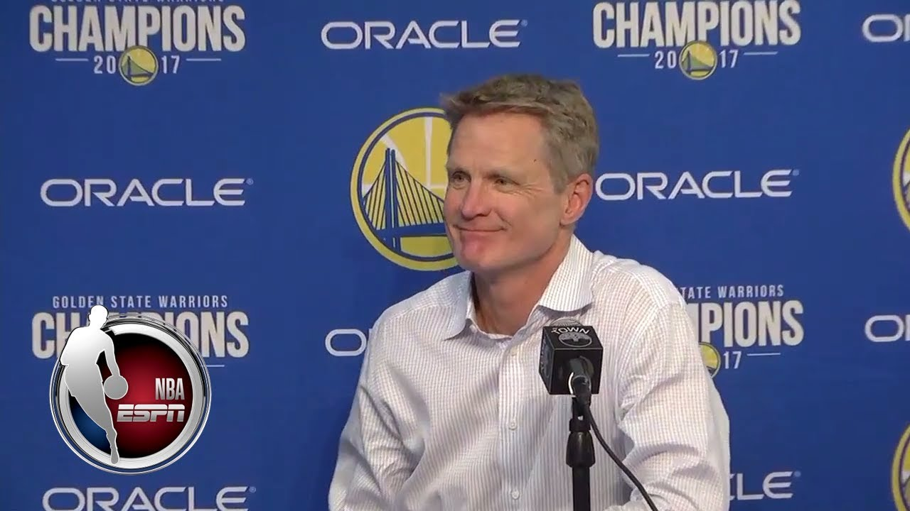 Kerr on Warriors' Loss: I Didn't See A Lot Of Joy Out There | ESPN