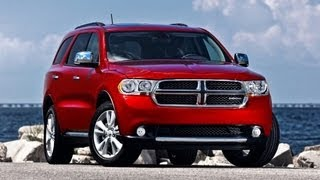 2012 Dodge Durango Crew AWD Drive and Review
