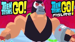 Teeny Titans 2 Game Bane Tournament  (Arkham Asylum Teen Titans Go Figure Justice League Gameplay)