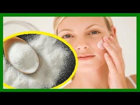 Como blanquear la piel con Bicarbonato de sodio 5