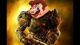 Doom but with Super Mario Odyssey Music