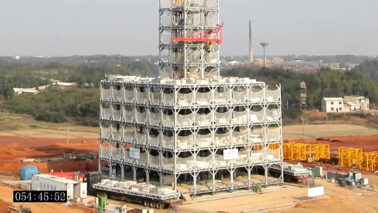 30 story building built in 15 days time lapse youtube for Time to build a house